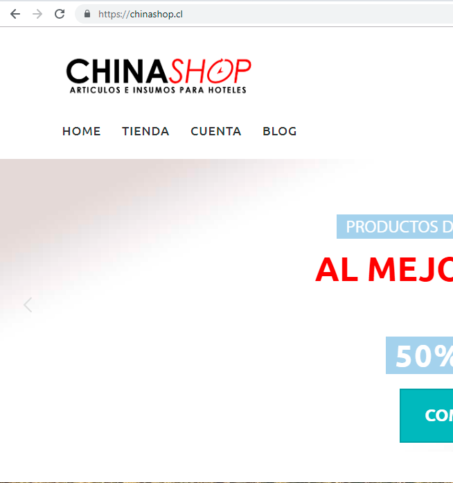 Cliente ChinaShop